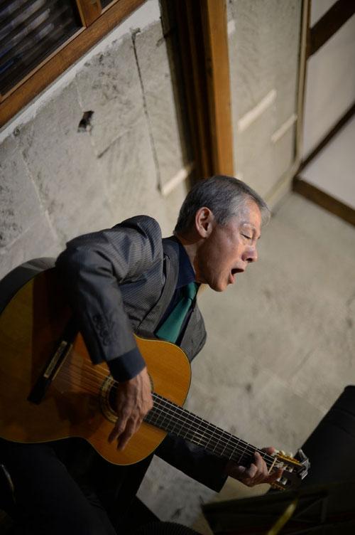 「カフェ 櫛田蔵のライヴより」