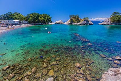 堂ヶ島の一日