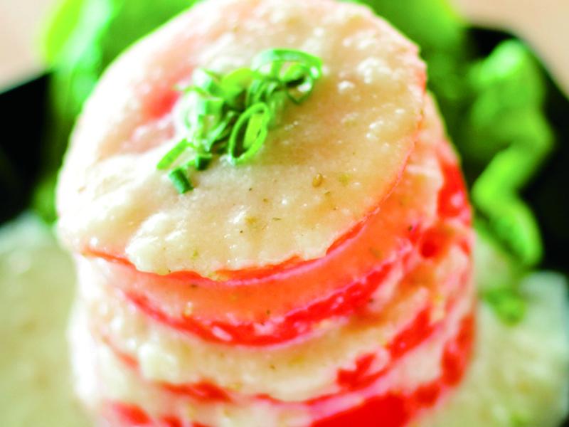 トマトサラダ600円(税別)
